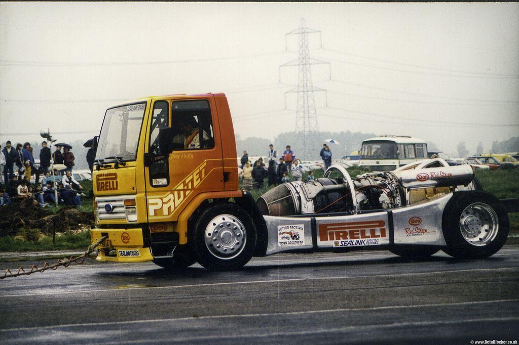 Pirelli Jet Truck York Race Way