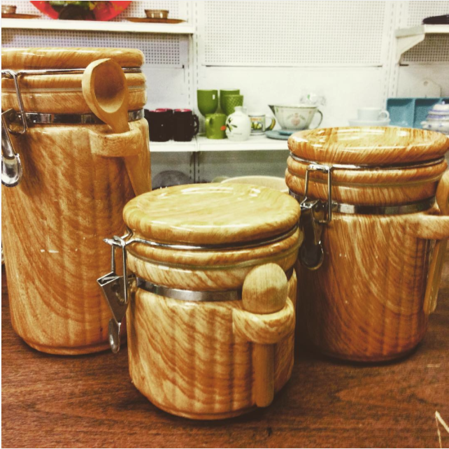 Our bric-a-brac section is full of everyday items you need! Stop by any three of our family stores for a new set of dishes, serving ware, canisters and much more!!!