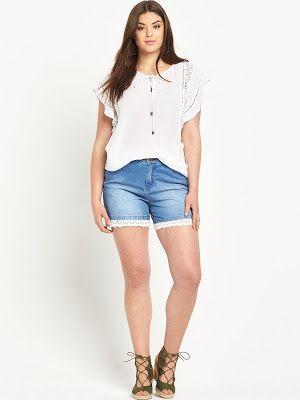 gran selección de d31a1 90c09 Pantalones cortos para gorditas | Estilos para tallas ...