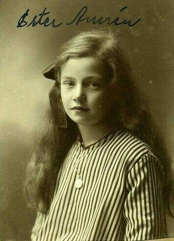 Swedish girl 1915