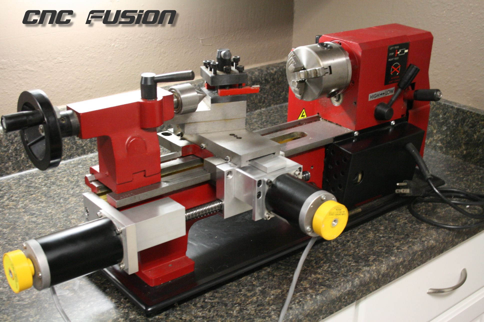 CNC FUSION CNC Conversion Kits for benchtop lathes and