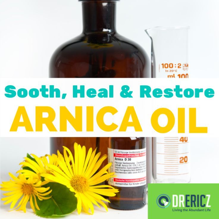 Arnica Oil Uses Benefits Soothe Heal Restore Essential