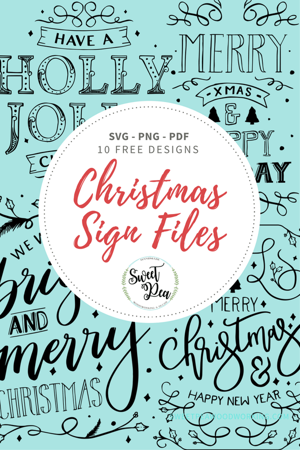 Free Christmas Sign Designs Christmas signs, Sign design