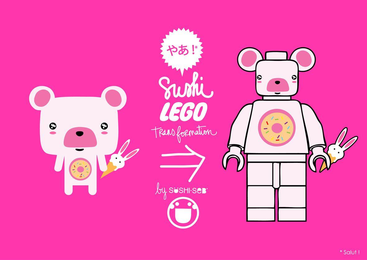 Lego Mashumaro by SUSHISEB