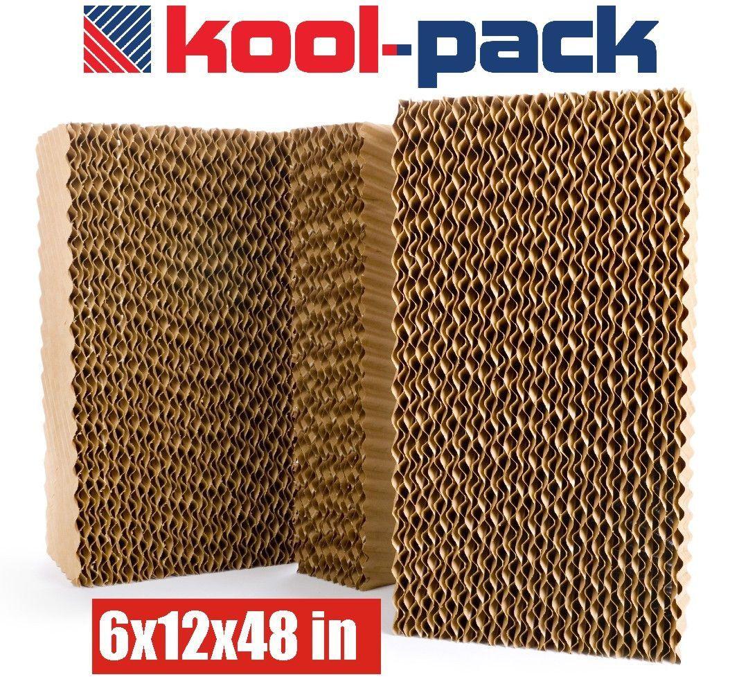Kool Pack Evaporative Cooling Pad 6x12x48 Inch Thick Media Pad