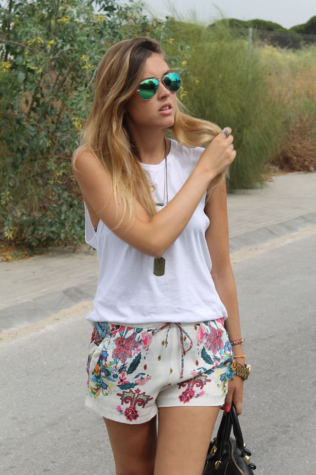 Amado Tumblr | Vogue -fashion -style | Pinterest | Floral shorts, Floral  UQ93