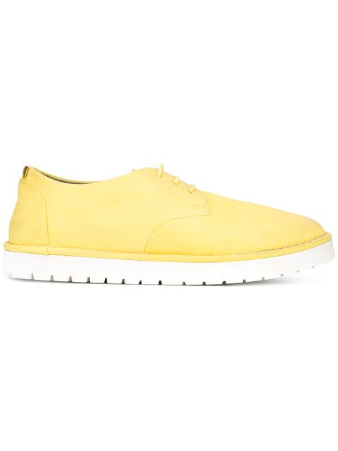 MARSÈLL Chunky Sole Lace-Up Shoes. #marsèll #shoes #flats