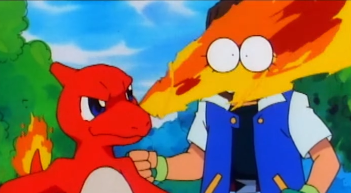 "Watching the ""Adventures with Ash and Charizard!"" video. Even Charmeleon cried his feels #unblockedgames"