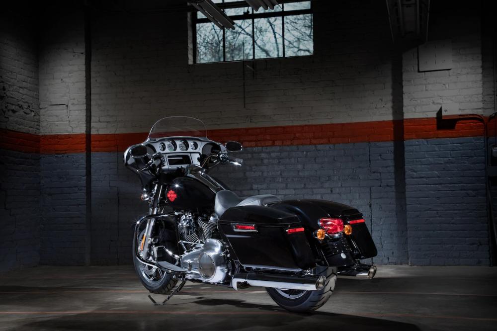Electra Glide Standard Motocikl Unikalnyj Ikony Stilya