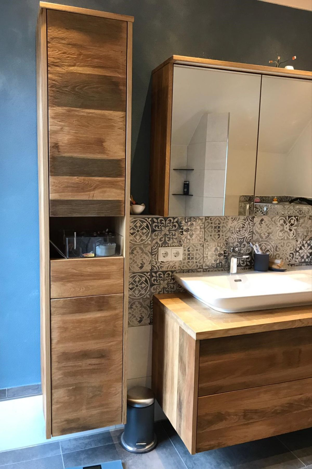 Badezimmermobel Badezimmer Badezimmer Eiche Spiegelschrank