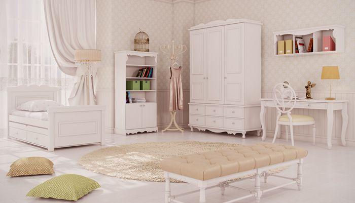 Creams child\teen's room
