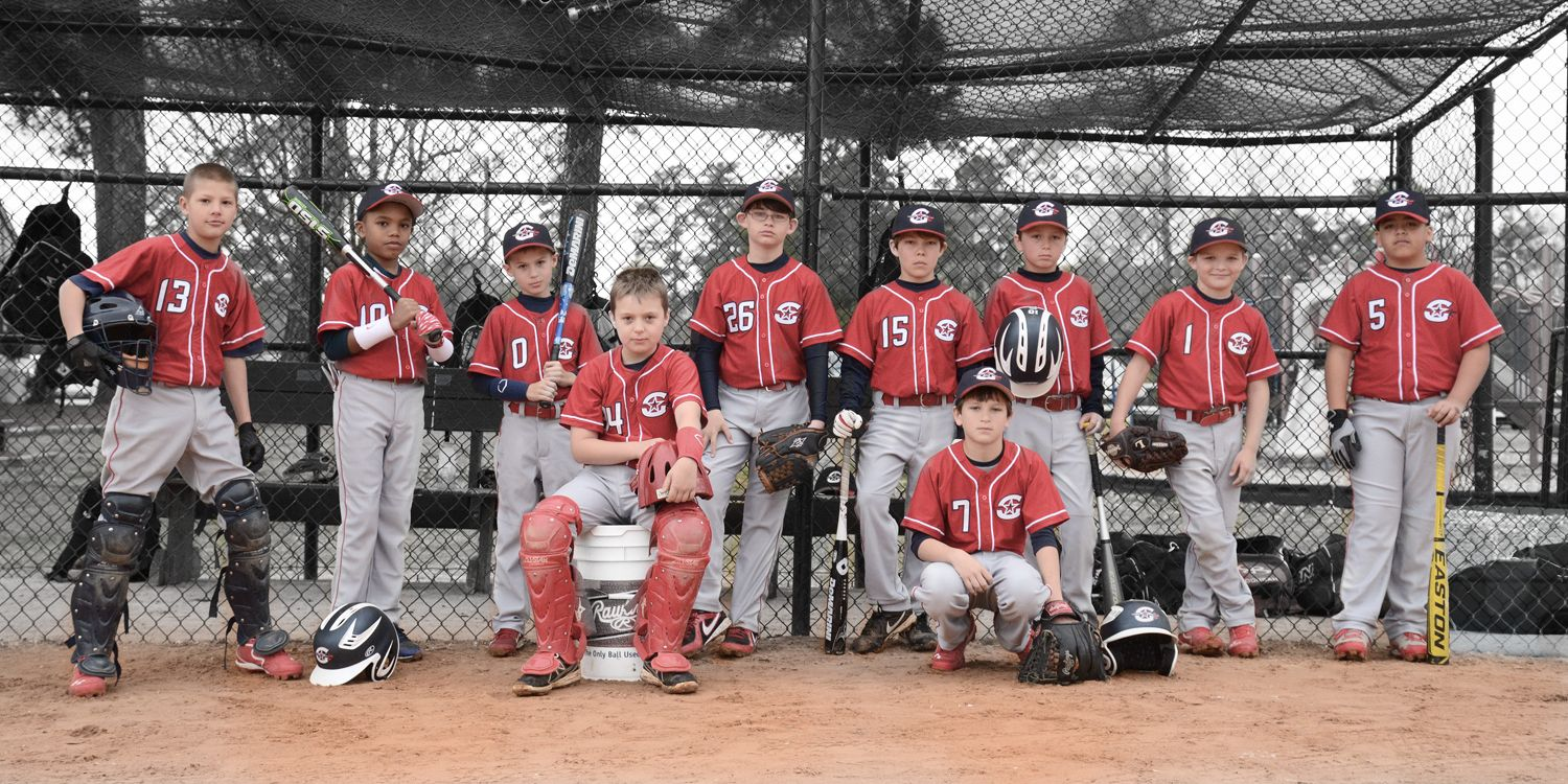 Wicked Cool Baseball Team Picture