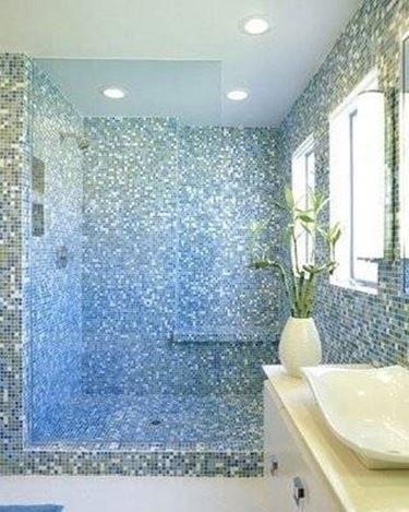 Risultati immagini per mosaico bagno | toilet please! | Pinterest ...
