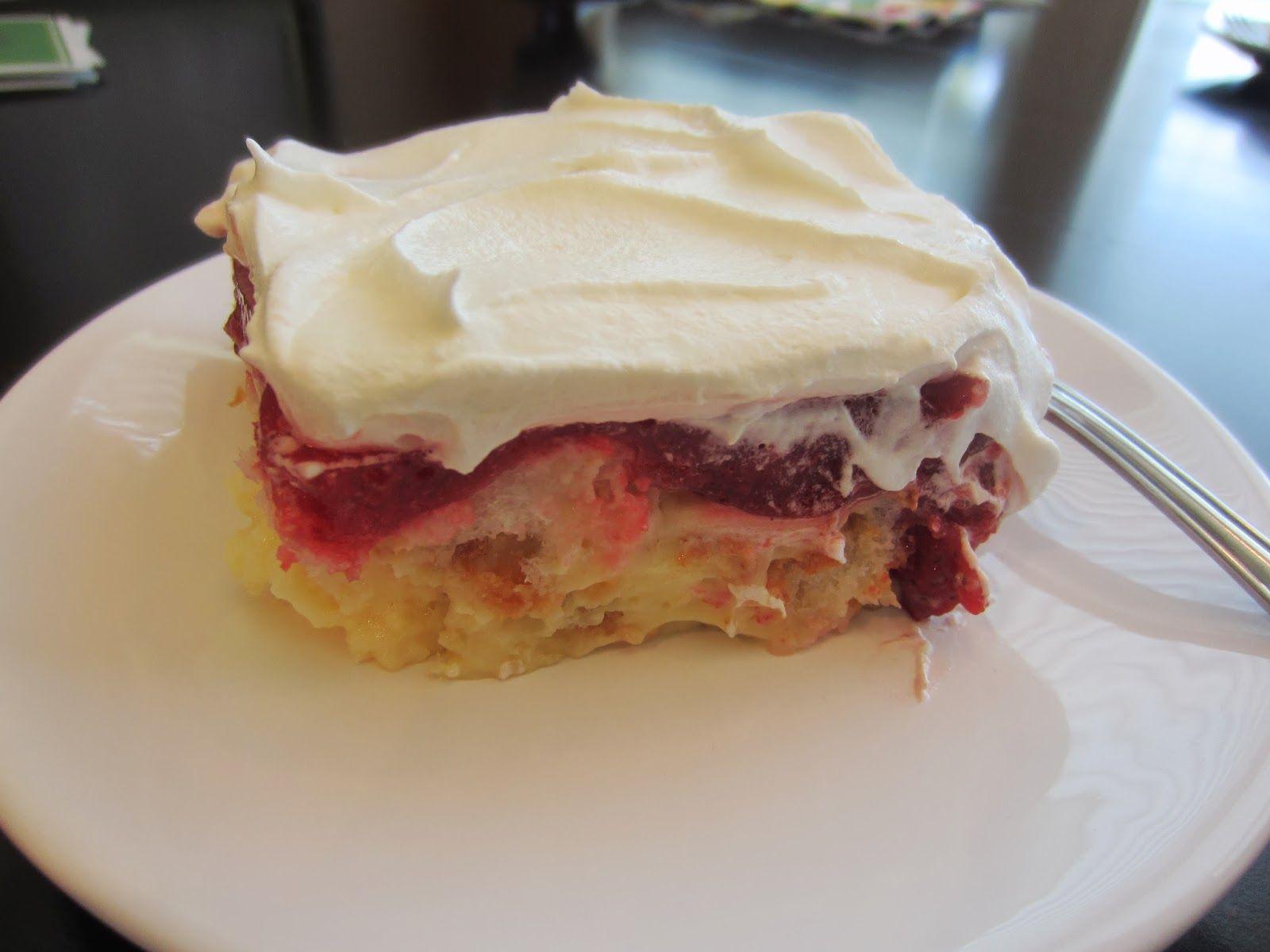 Strawberry Angel Dessert With Images Angel Food Cake Desserts
