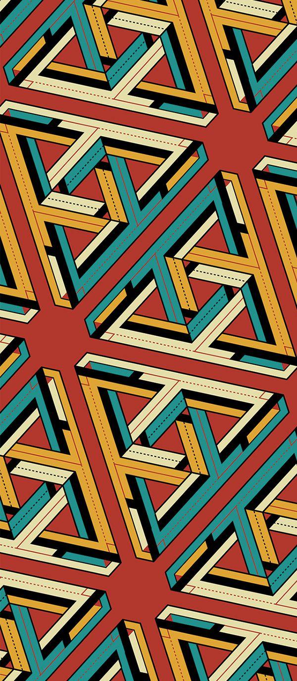 Escher His Flat Design Band On Behance