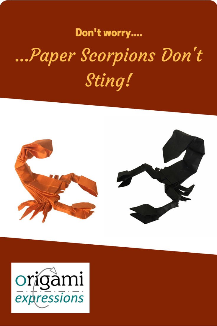 A Page Reviewing Leonardo Pulidos Origami Scorpion Model Includes My Experiences Folding It