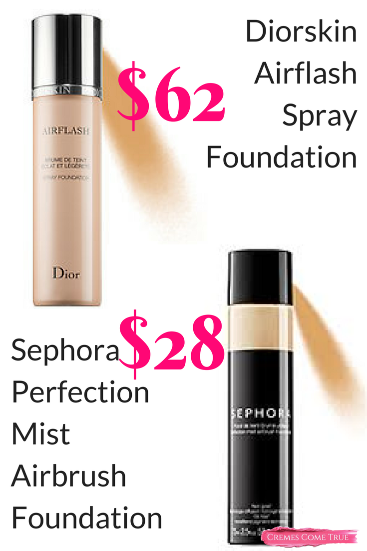 Diorskin Airflash Spray Foundation Review and Application