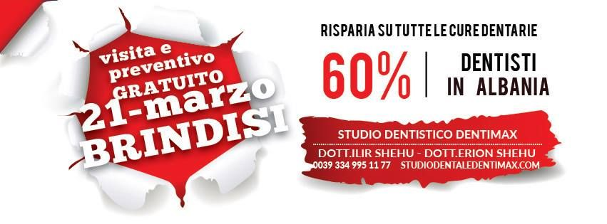 prenotazione dentimax albania e una sessione di compilare la scheda registrazione paziente oppure lasciare un appuntameno direttamente allo studio