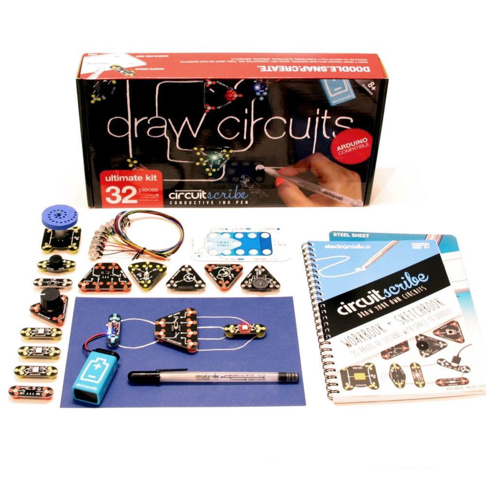 Create A Wealth Of Complex Dynamic Paper Circuits With The Circuit Scribe Want Ultimate Kit