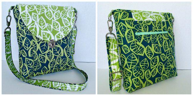 Cross Body Bag pattern - POTM | Bag sewing patterns, Cross body bags ...