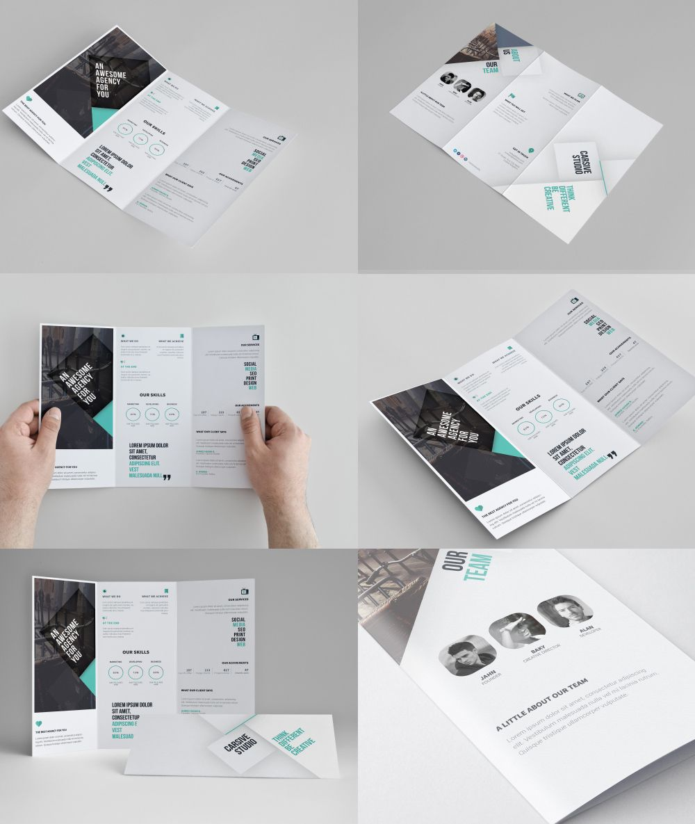 p download corporate tri fold brochure template free psd today s