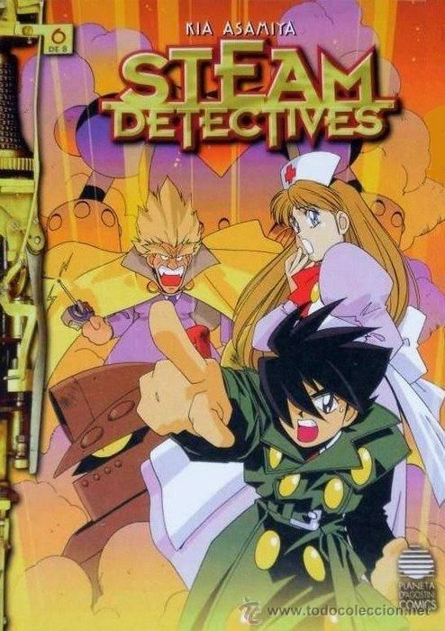 STEAM DETECTIVES #6, PLANETA-DE AGOSTINI