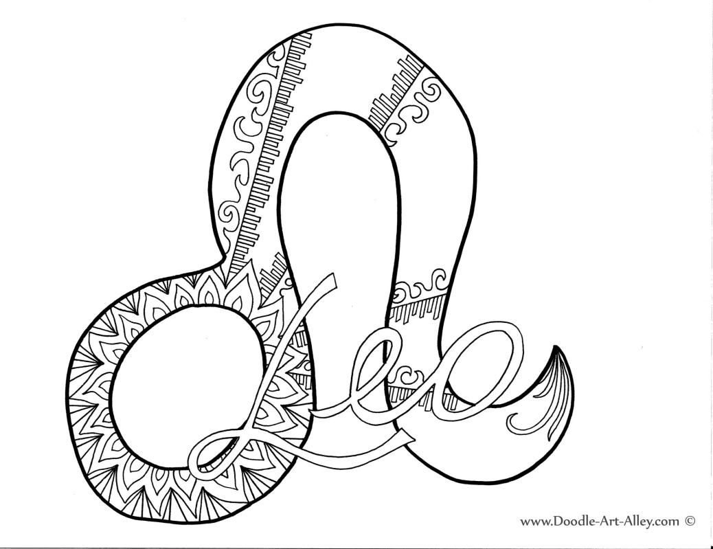 Leo Adult Coloring Pages Pinterest Adult Coloring