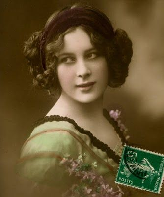 circa 1912 princess leia hair style before it was known as
