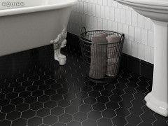Scale Black 11 6x10 1 Equipe Ceramicas Tags Azulejo Ceramica Tendencia Trend Tile Ceramic Design Diseno Floor Porcelanic W Piso Hexagonal Hexagonal Ladrilho