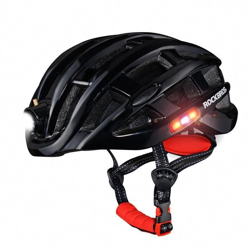 Bike Helmet With Usb Rechargeable Light Coolbikeaccessories