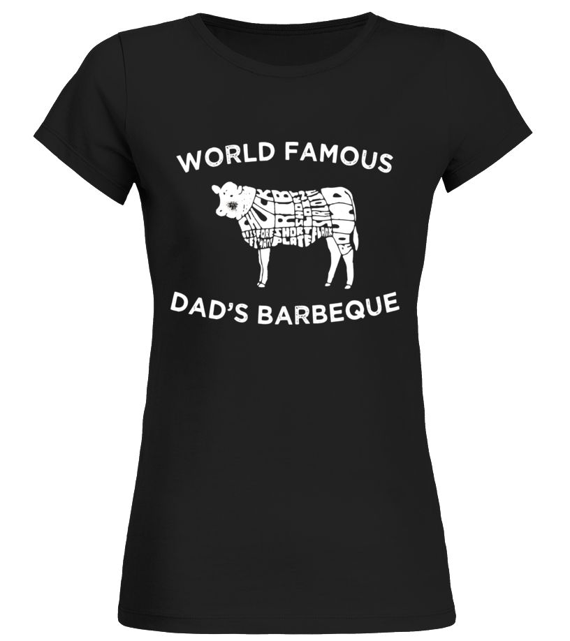 Fathers Day World Famous Dads Barbeque T-Shirt