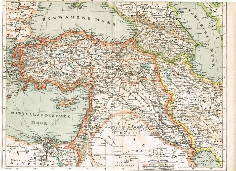 1900 western asia 2 old maps asia westerns and asia map 1900 western asia 2 old maps publicscrutiny Gallery