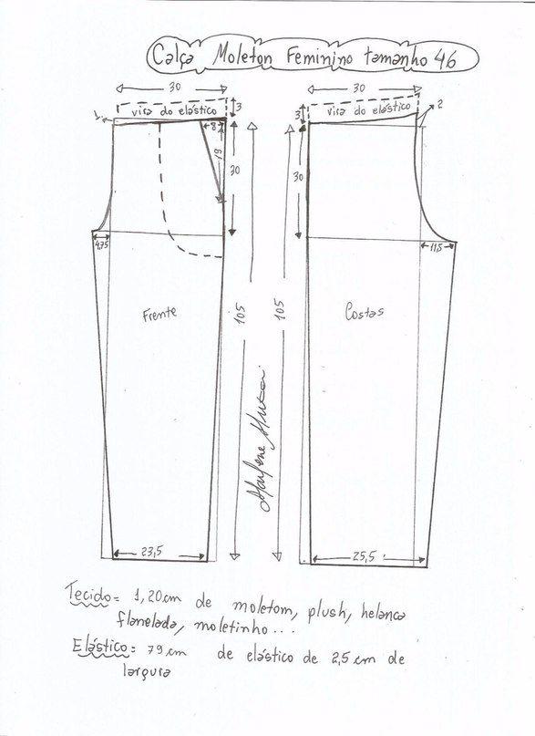 Шитье ✂ | шитье | Costura, Patrones y Moldes