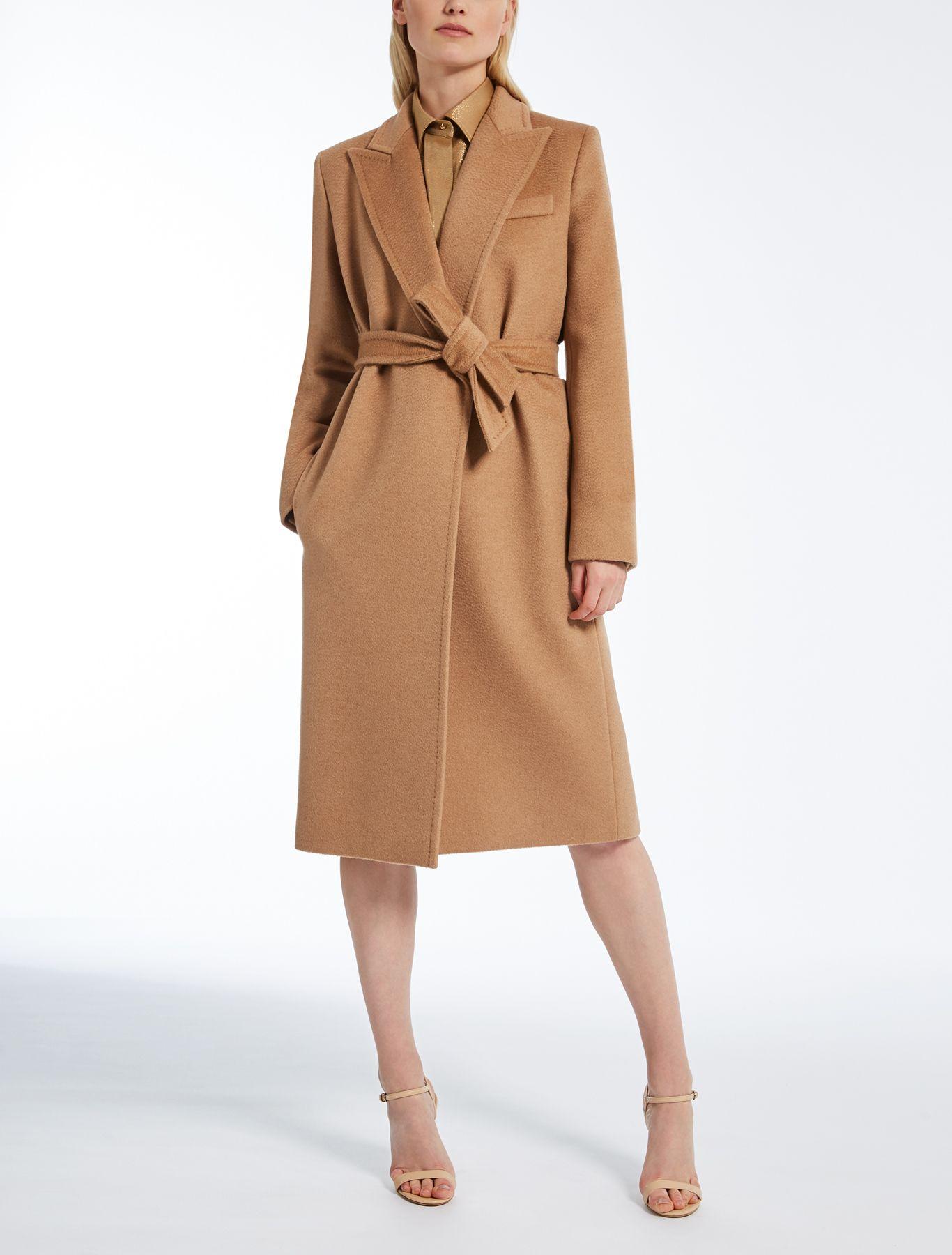 03f203ee13 Max Mara SEOUL brass  Camel coat.