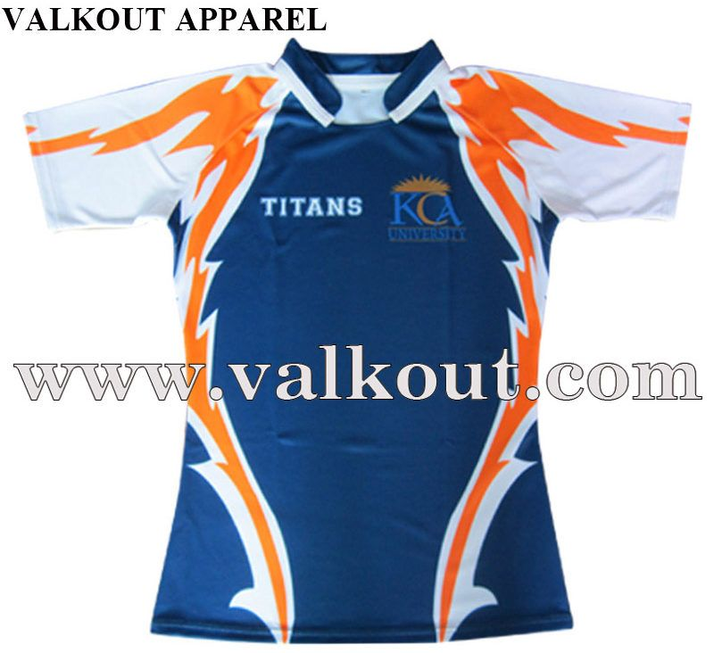Creat Your Own Professional Polyester Mens Sublimated Printing Rugby Shirt Valkout Apparel Co Ltd Custom Sublimate Rugby Shirt Rugby Jersey Sport Outfits