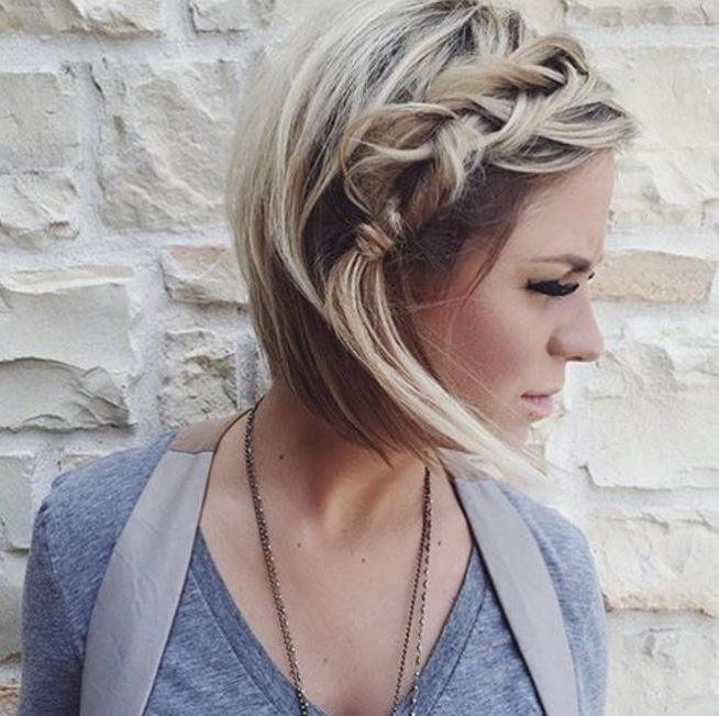 19 Cute Braids For Short Hair You Will Love Be Modish Braids For Short Hair Short Hair Styles Hair Styles
