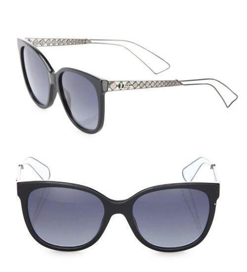 8c64b69a5a Dior Diorama 3 55MM Square Sunglasses Grey  59.00