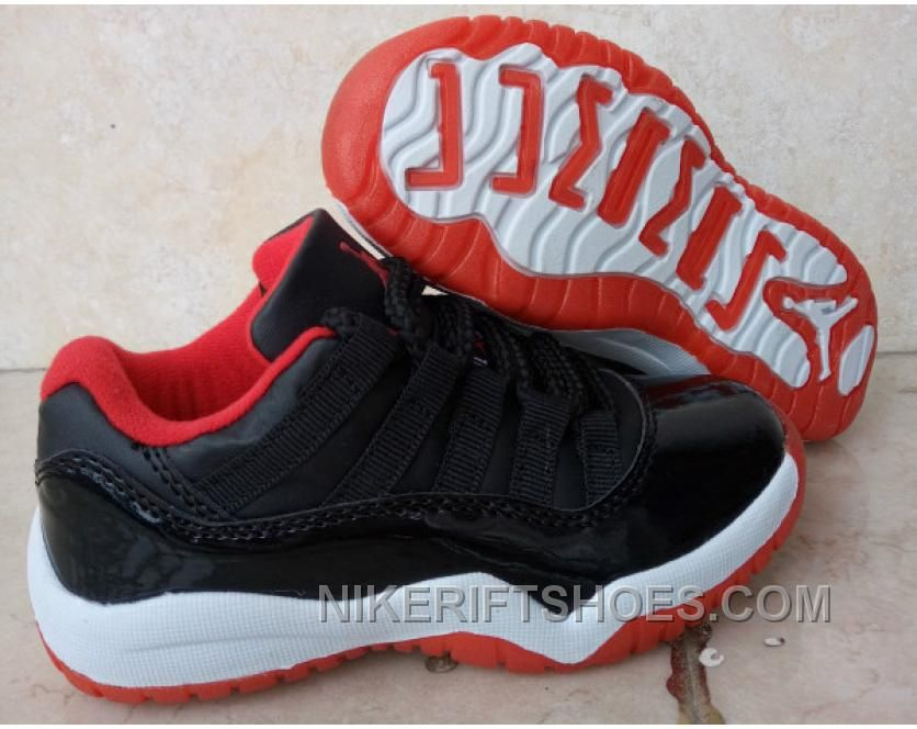 "separation shoes d55e3 f86f4 Kids Air Jordan 11 Low ""Bred"" 2016 For Sale Lastest CyWiZ in ..."
