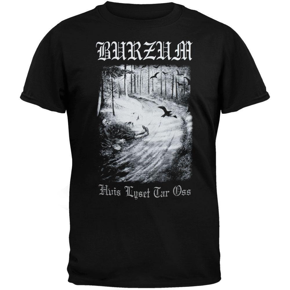 352f204a3 Burzum - Hvis Lyset Tar T-Shirt   Rock & Metal Shirts   T shirt ...
