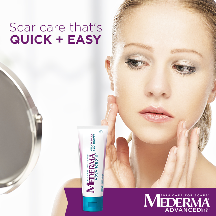 You Can Safely Use Mederma Advanced Scar Gel With Other Cosmetic Products Like Lotions And Makeup However Mederma Advanced Works Best When It Can Be Easily