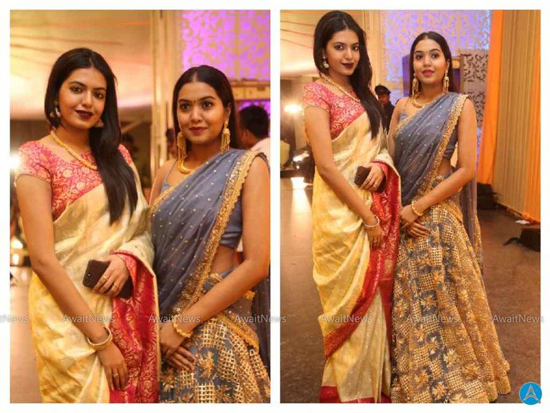 Rajasekhar Daughters Photos At Shyam Prasad Reddy Daughter Wedding