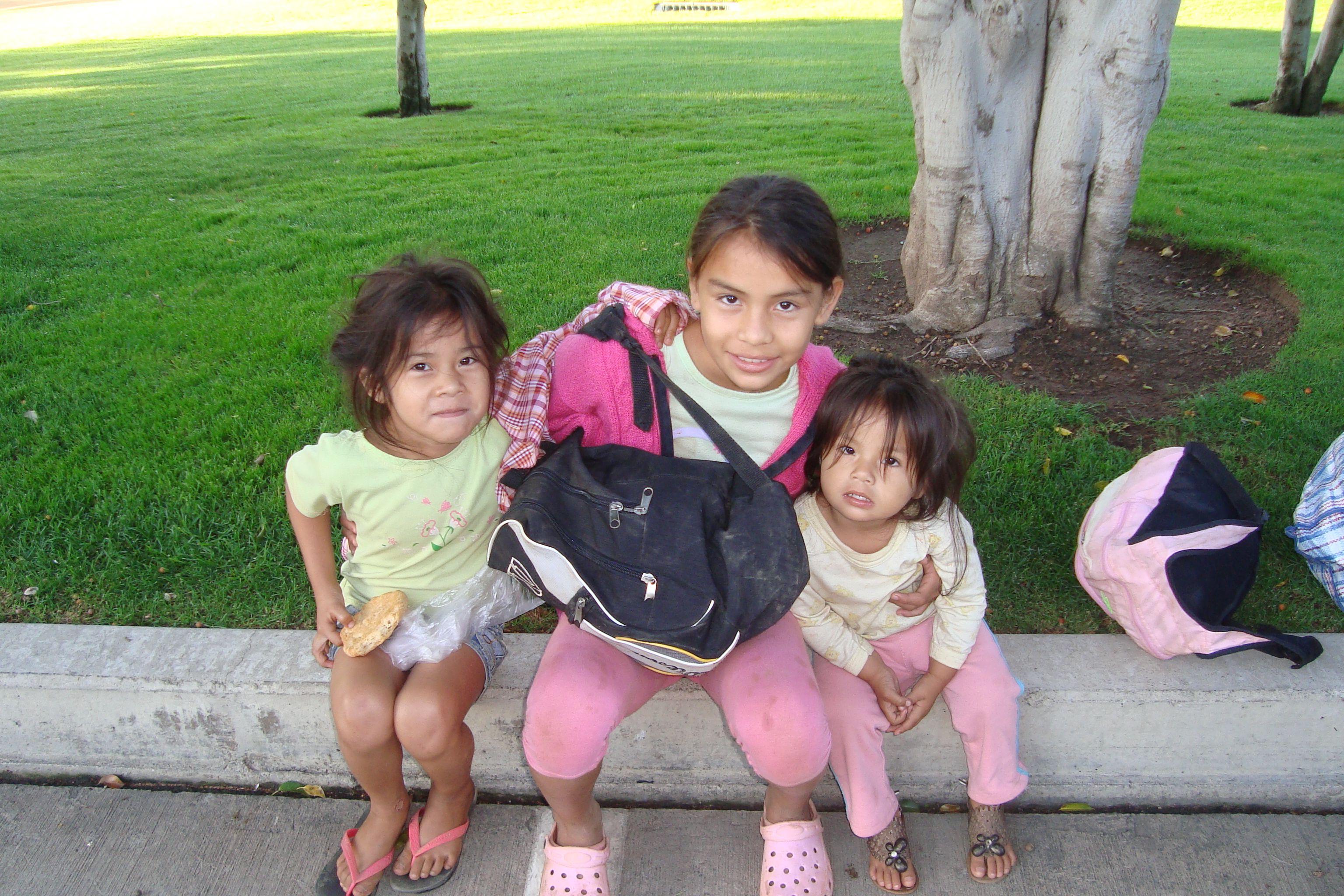 3 kids from Cobija, Bolivia