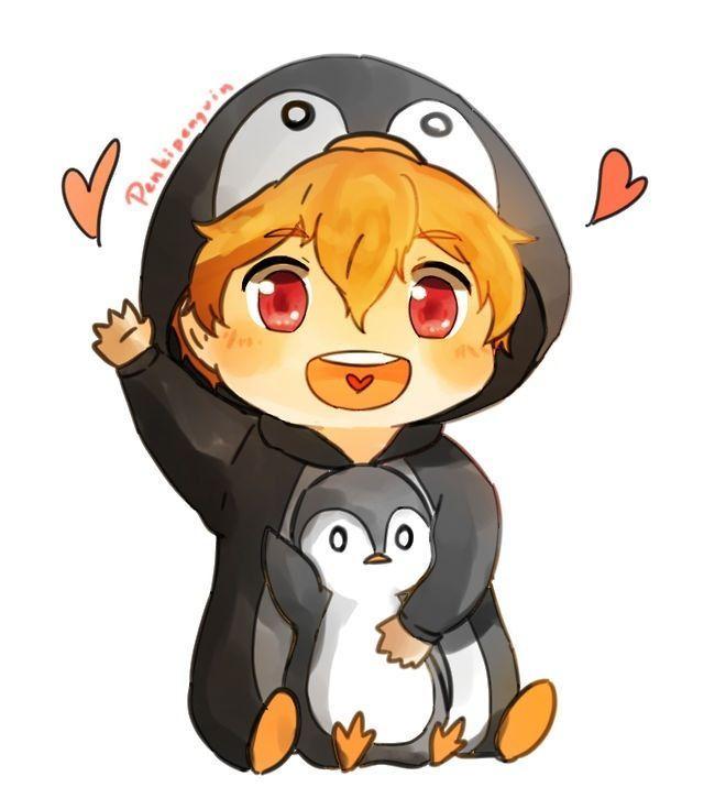 Free Iwatobi Swim Club Nagisa Penguin Free Anime Free Iwatobi