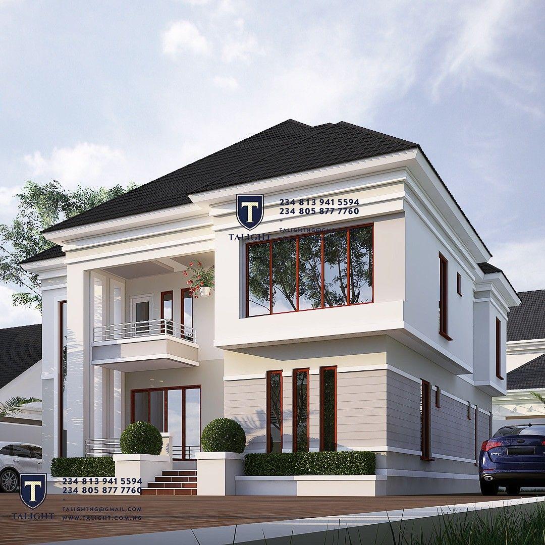 Four bedroom duplex in Nigeria (With images) Duplex