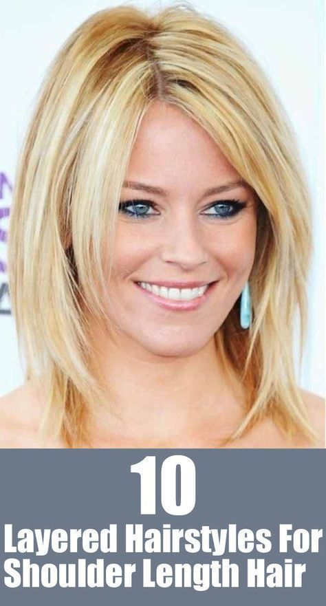 20 Great Shoulder Length Layered Hairstyles | Hair | Pinterest ...