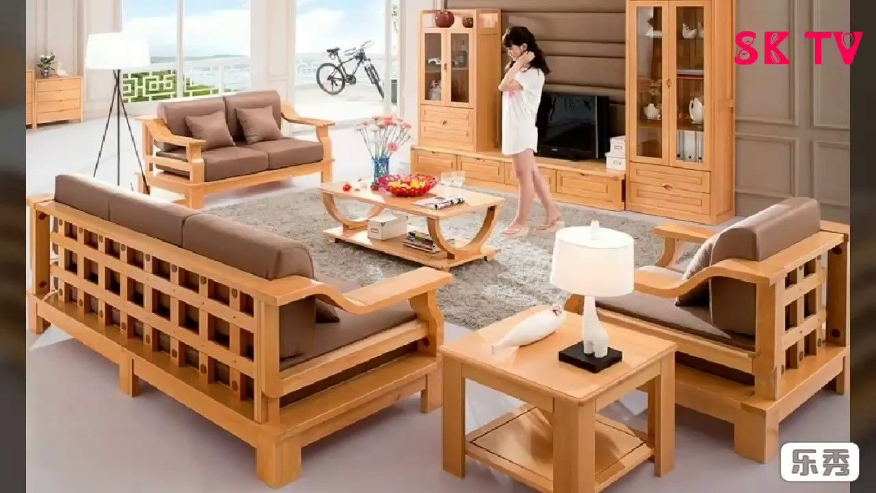 latest wooden sofa set design for you | wooden sofa set