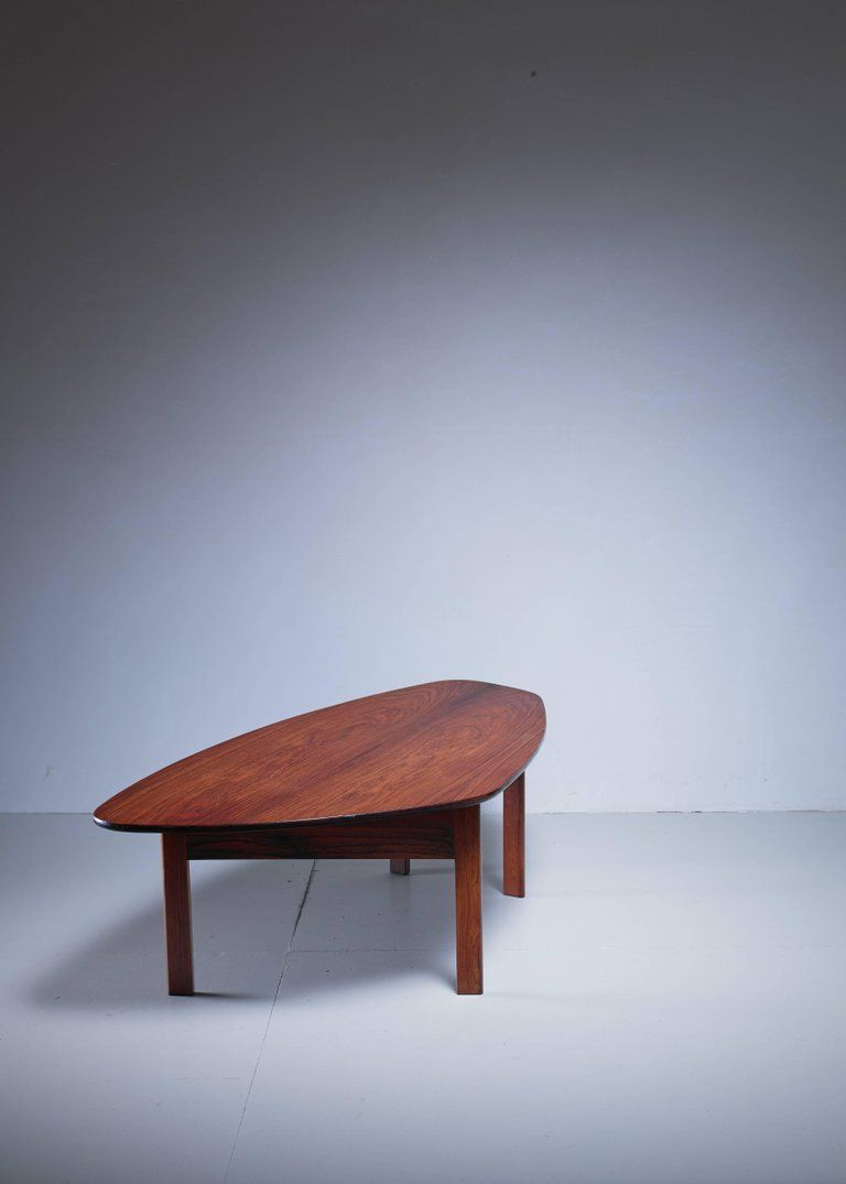 Large Free Form Danish Rosewood Coffee Table 1960s Coffee Table Table Coffe Table [ 1075 x 768 Pixel ]