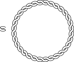 Rope Border Circle Clip Art Clip Art Online Art Foam Carving