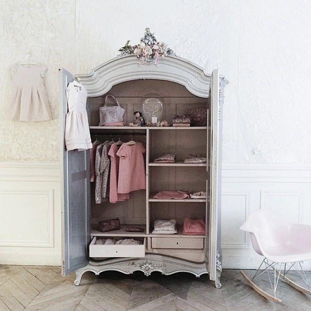 goergian inspired armoire bonpoint paris bonpoint. Black Bedroom Furniture Sets. Home Design Ideas