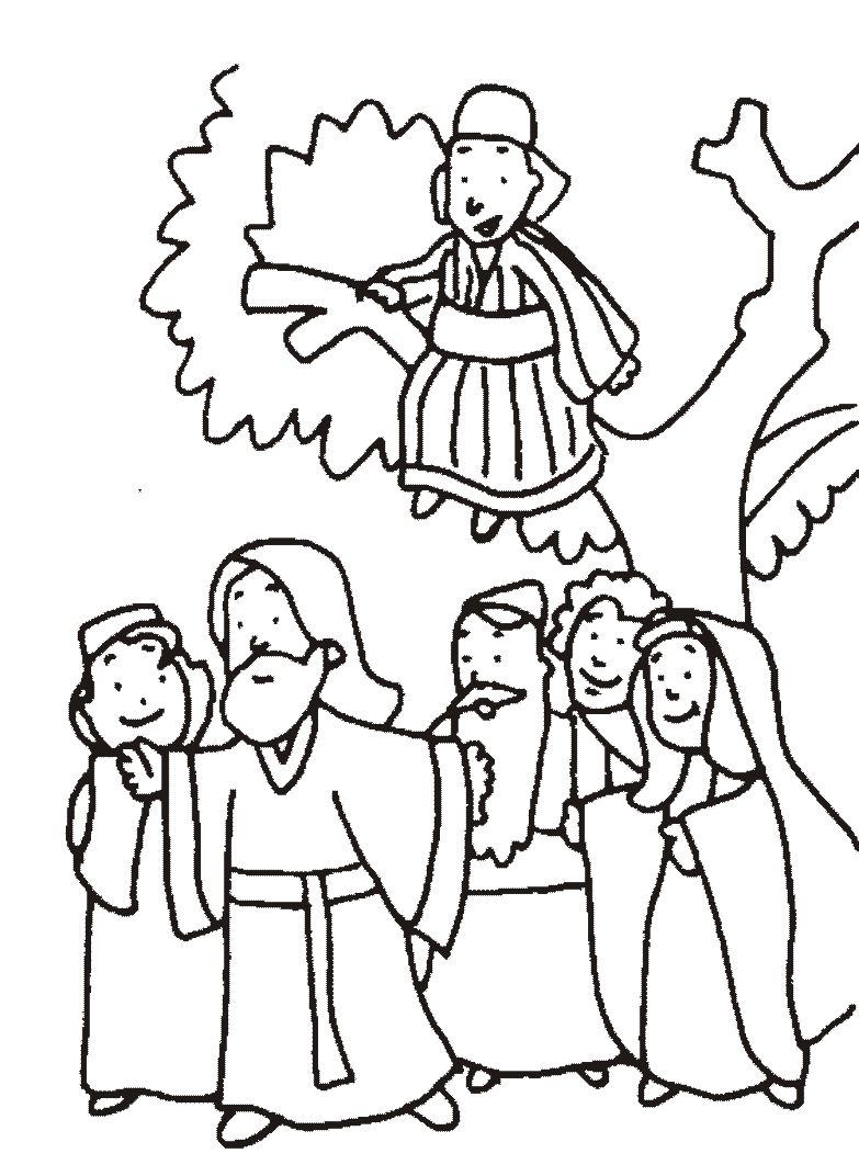 Zaqueo | Biblia_Nuevo Testamento | Pinterest | Zaqueo, Biblia nuevo ...
